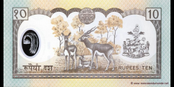 Nepal - p45 - 10 Roupies - ND (2002) - Nepal Rastra Bank