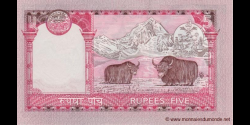 Nepal - p46 - 5 Roupies - ND (2002) - Nepal Rastra Bank