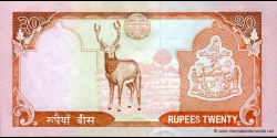 Nepal - p47b - 20 Roupies - ND (2002 - 2005) - Nepal Rastra Bank