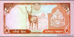 Nepal - p55 - 20 Roupies - ND (2006) - Nepal Rastra Bank