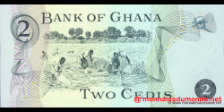 Ghana - p14c - 2 cedis - 02.01.1977 - Bank of Ghana