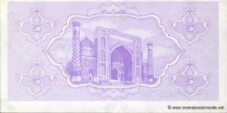 Ouzbékistan - p63 - 5 Sum - 1992 - O'zbekiston Davlat Banki