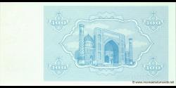 Ouzbékistan - p67 - 100Sum - 1992 - O'zbekiston Davlat Banki