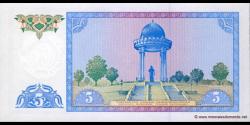 Ouzbékistan - p75 - 5Sum - 1994 - O'zbekiston Respublikasi Markaziy Banki