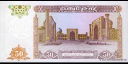 Ouzbékistan - p78 - 50 Sum - 1994 - O'zbekiston Respublikasi Markaziy Banki