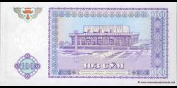 Ouzbékistan - p79 - 100Sum - 1994 - O'zbekiston Respublikasi Markaziy Banki