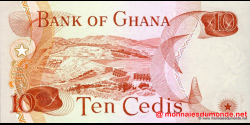 Ghana - p16f - 10 cedis - 02.01.1978 - Bank of Ghana