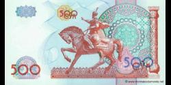 Ouzbékistan - p81 - 500Sum - 1999 - O'zbekiston Respublikasi Markaziy Banki