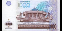 Ouzbékistan - p82 - 1.000Sum - 2001 - O'zbekiston Respublikasi Markaziy Banki