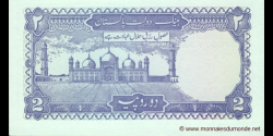 Pakistan - p37e - 2 Roupies - ND (1985 - 1993) - State Bank of Pakistan