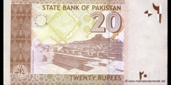 Pakistan - p46b - 20 Roupies - 2006 - State Bank of Pakistan