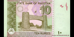 Pakistan - p54a - 10 Roupies - 2008 - State Bank of Pakistan
