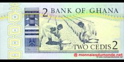 Ghana - p18d - 2 cedis - 06.03.1982 - Bank of Ghana