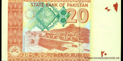 Pakistan - p55b - 20 Roupies - 2009 - State Bank of Pakistan