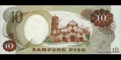 Philippines - p144b - 10Piso - ND (1969) - Bangko Sentral ng Pilipinas