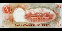 Philippines - p145a - 20Piso - ND (1969) - Bangko Sentral ng Pilipinas