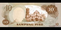 Philippines - p167 - 10Piso - 1981 - Bangko Sentral ng Pilipinas
