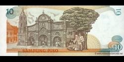 Philippines - p169a - 10Piso - ND (1985 - 1994) - Bangko Sentral ng Pilipinas