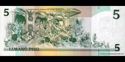 Philippines - p179 - 5Piso - 1991 - Bangko Sentral ng Pilipinas