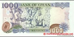 Ghana - p32d - 1 000 cedis - 04.08.2003 - Bank of Ghana