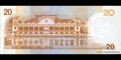Philippines - p182i - 20Piso - 2007 - Bangko Sentral ng Pilipinas