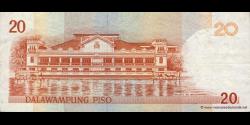 Philippines - p182i2 - 20Piso - 2008A - Bangko Sentral ng Pilipinas