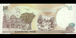 Philippines - p187e - 10Piso - 1999 - Bangko Sentral ng Pilipinas