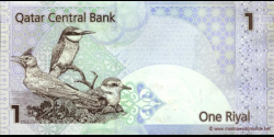 Qatar - p20 - 1 Riyal - ND (2003) - Qatar Central Bank