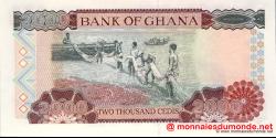 Ghana - p33g - 2 000 cedis - 02.09.2002 - Bank of Ghana