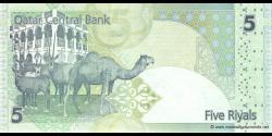 Qatar - p29 - 5Riyals - ND (2008) - Qatar Central Bank