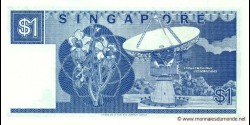 Singapour - p18a - 1 Dollar - ND (1987) - Board of Commissioners of Currency