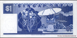 Singapour - p18b - 1 Dollar - ND (1987) - Board of Commissioners of Currency