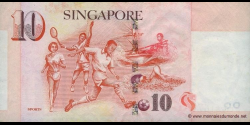 Singapour - p48 - 10 Dollars - ND (2005) - Monetary Authority of Singapore