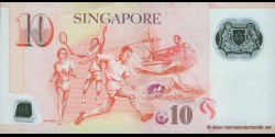 Singapour - p54a - 10 Dollars - 2004 - Monetary Authority of Singapore