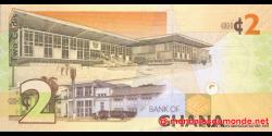 Ghana - p37Aa - 2 cedis - 06.03.2010 - Bank of Ghana