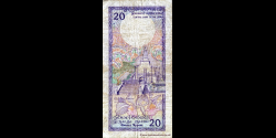 Sri - Lanka - p097b - 20 Roupies - 21.02.1989 - Central Bank of Sri Lanka