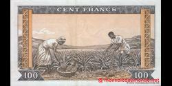 Guinée - p13 - 100 francs - 01.03.1960 - Banque Centrale de la République de Guinée