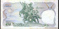 Thaïlande - p088p - 20 Baht - ND (1981) - Bank of Thailand