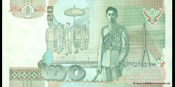 Thaïlande - p109c - 20 Baht - BE 2546 (2003) - Bank of Thailand