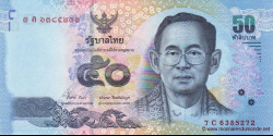 Thaïlande - p119b - 50 Baht - ND (2012) - Bank of Thailand