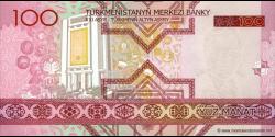 Turkménistan - p18 - 100 Manat - 2005 - Türkmenistanyň Merkezi Banky