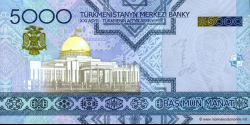 Turkménistan - p21 - 5.000 Manat - 2005 - Türkmenistanyň Merkezi Banky