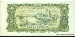 Viêt Nam - p081b - 5 Ðồng - 1976 - Ngân Hàng Nhà Nu'ớc Việt Nam (State Bank of Viêt Nam)