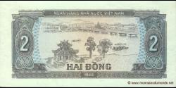Viêt Nam - p085 - 2 Ðồng - 1980 - Ngân Hàng Nhà Nu'ớc Việt Nam (State Bank of Viêt Nam)