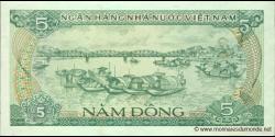 Viêt Nam - p092 - 5Ðồng - 1985 - Ngân Hàng Nhà Nu'ớc Việt Nam (State Bank of Viêt Nam)