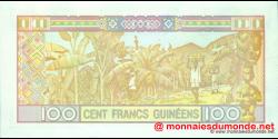 Guinée - p35a - 100 francs - 1998 - Banque Centrale de la République de Guinée