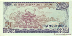Viêt Nam - p094 - 20Ðồng - 1985 - Ngân Hàng Nhà Nu'ớc Việt Nam (State Bank of Viêt Nam)