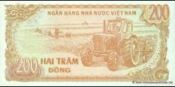 Viêt Nam - p100 - 200Ðồng - 1987 - Ngân Hàng Nhà Nu'ớc Việt Nam (State Bank of Viêt Nam)