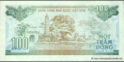 Viêt Nam - p105 - 100Ðồng - 1991 - Ngân Hàng Nhà Nu'ớc Việt Nam (State Bank of Viêt Nam)