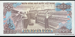 Viêt Nam - p107a - 2.000Ðồng - 1988 - Ngân Hàng Nhà Nu'ớc Việt Nam (State Bank of Viêt Nam)
